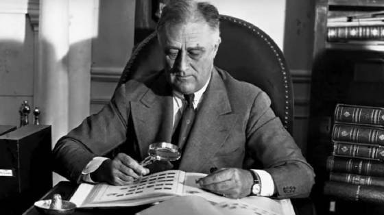 Franklin Delano Roosevelt stamp collector