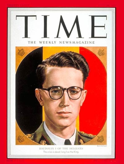 King Baudouin Time Magazine July 30, 1951