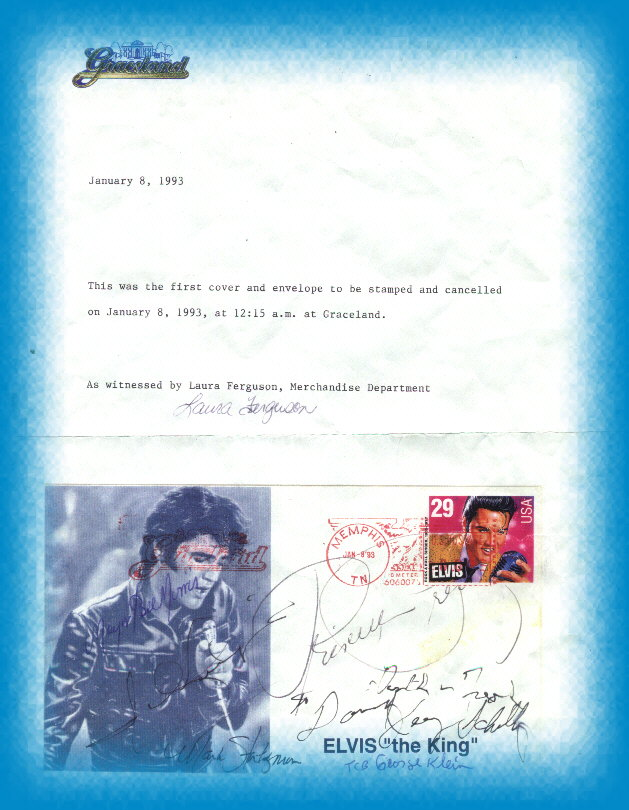 Graceland Letter of FDC's Authenticity