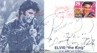 Elvis First Day Cover (front)